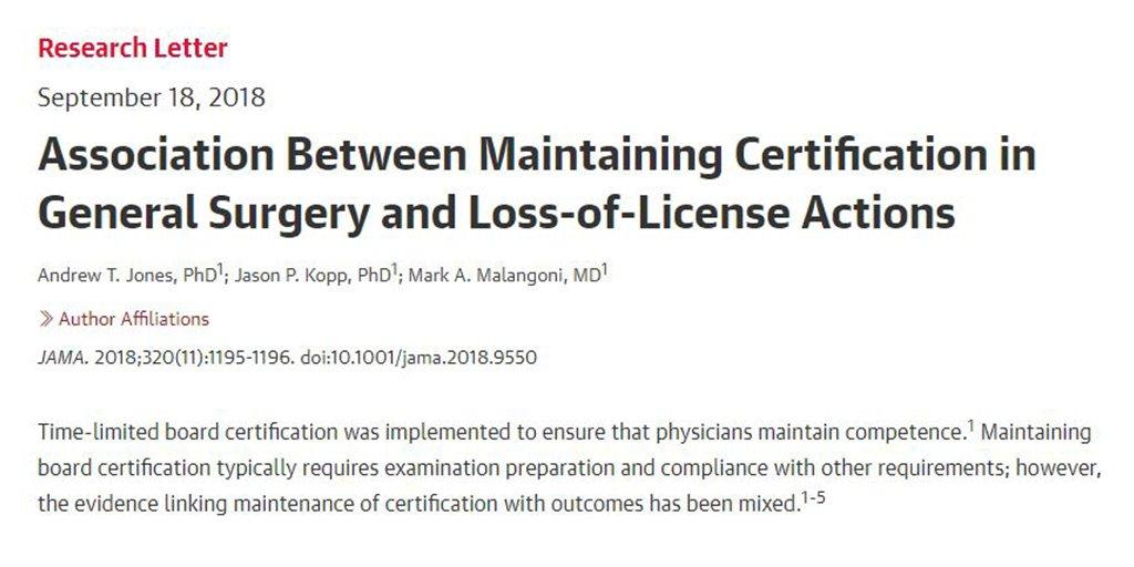 Jo Buyske On Twitter Certification Matters Ask Your Doctor