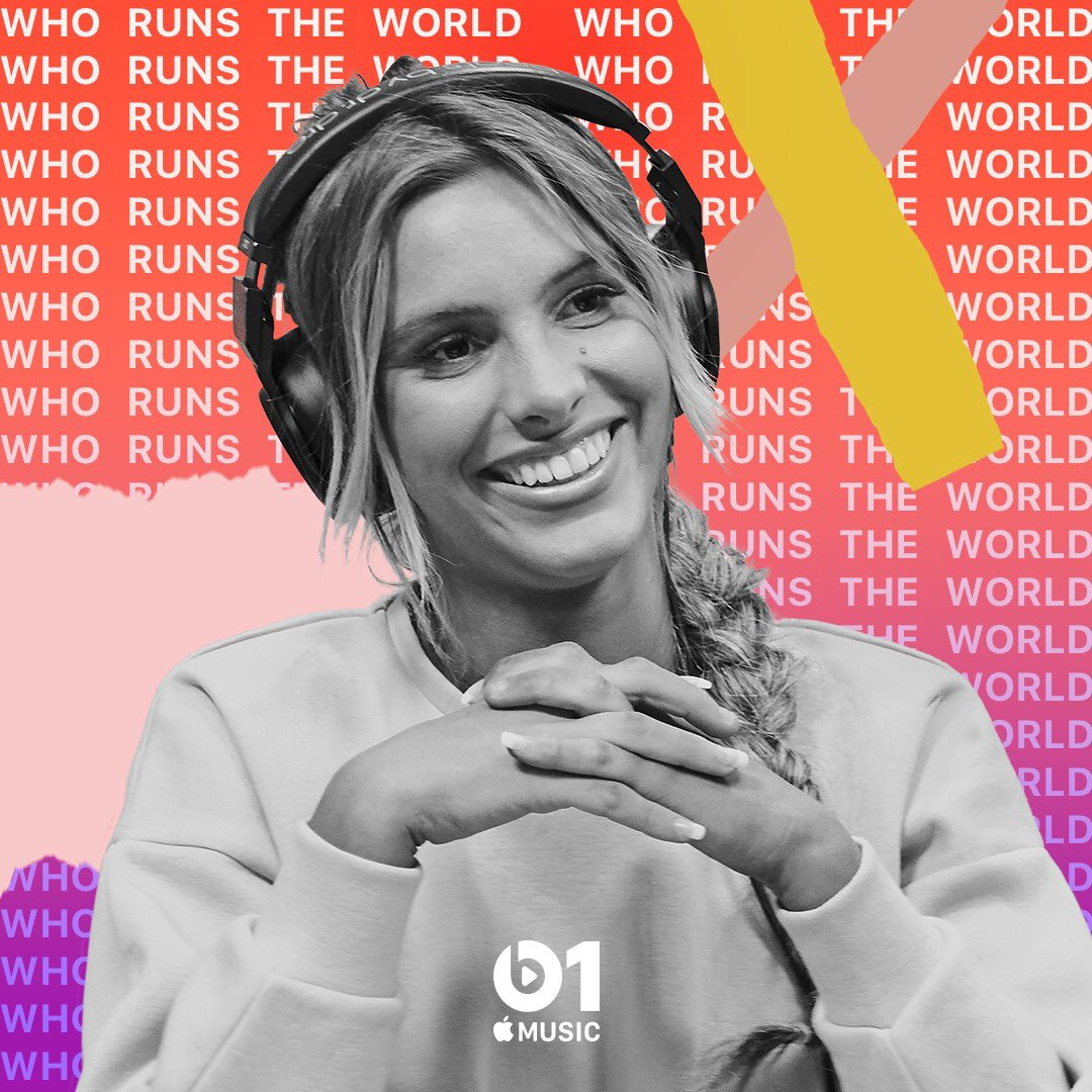 Open @Beats1 on @AppleMusic now! I'm on Who Runs the World Live! #WRTW ���� https://t.co/KSer0xKiqM https://t.co/BWpDjzEfyS