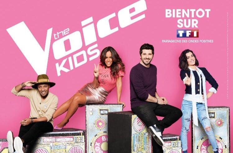 #thevoicekids is coming back ! le 12 octobre sur @TF1 @JeniferOfficiel @patrickfiorioff et 2 nvx Coachs que vous allez A-DO-RER @Sopranopsy4 et @amel_bent ! à vite ....