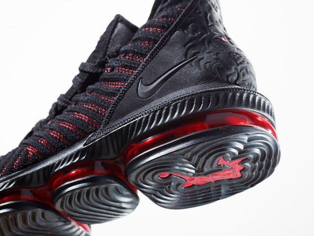 118cce560403 official images and release details for the lebron 16 fresh bred and words  from lebron james