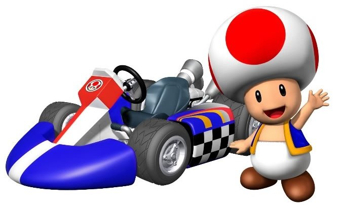 Yay #MarioKart and #Toad are trending on Twitter!