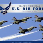 Happy birthday to the @usairforce! God bless the brave men and women who have served (including my father, Captain Ray Oliverson!) #txlege #AirForce