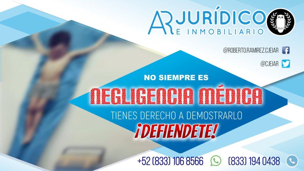 👩⚕ Te invitamos a DEFENDERTE en el marco de la legalidad y demostrar que NO SIEMPRE ES NEGLIGENCIA MÉDICA.  #tampico ☻