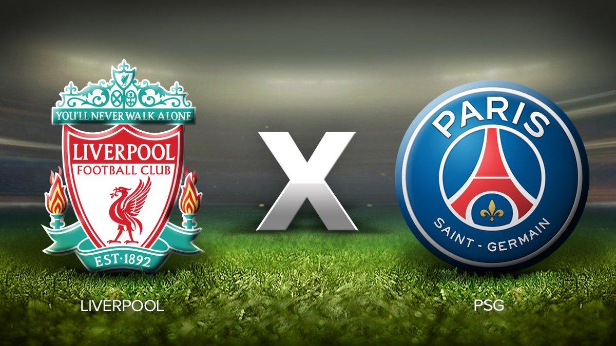 TEMPO REAL: acompanhe tudo sobre Liverpool x PSG pela Champions https://t.co/Ie478RBqwB