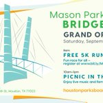 Image for the Tweet beginning: The countdown to the #MasonParkBridge