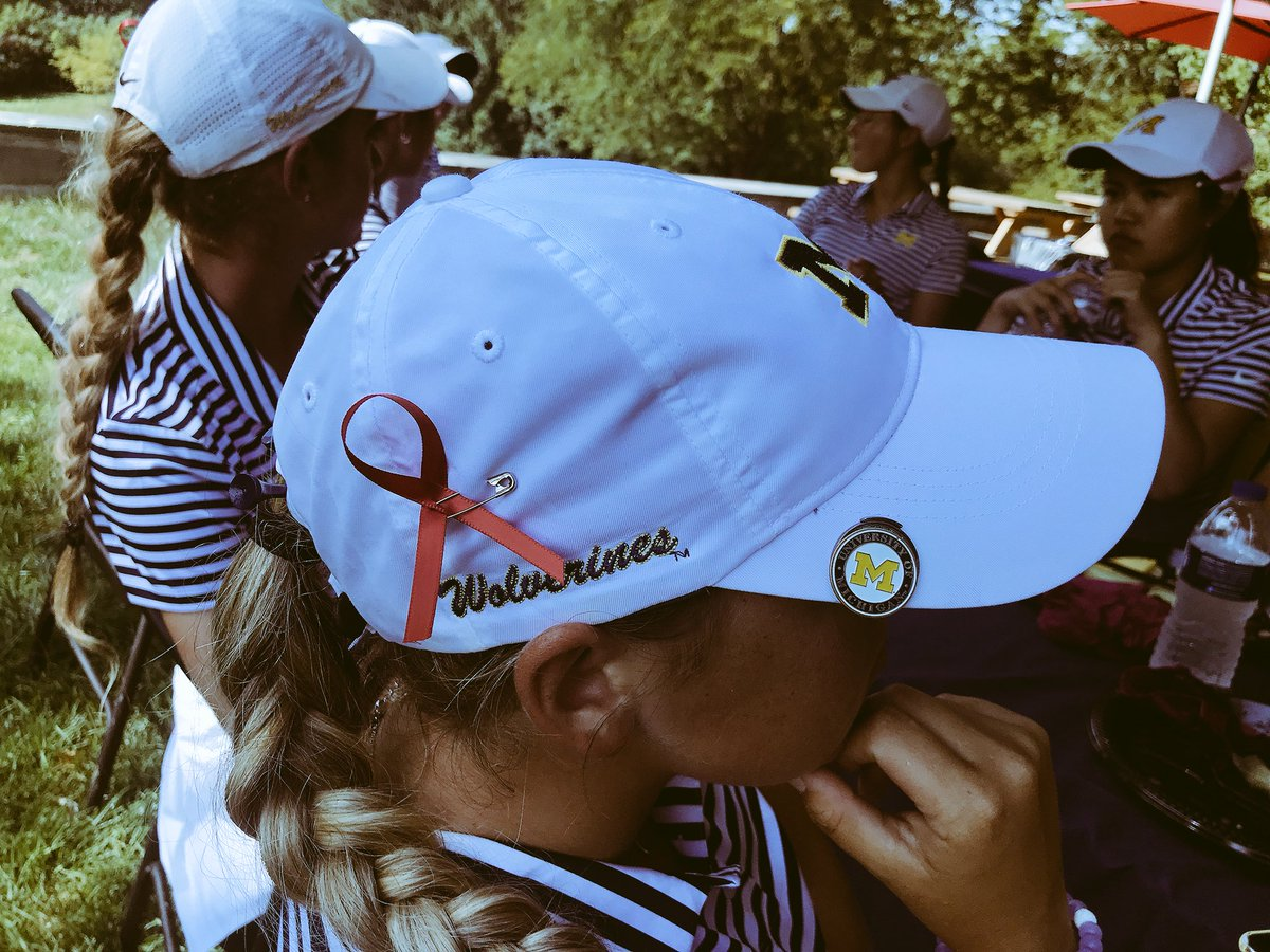 e9c0e688b74 ... and Ladies European Tour players will wear black ribbons and observe a  moment of silence for her during the first round of the Mediterranean Open  (from ...