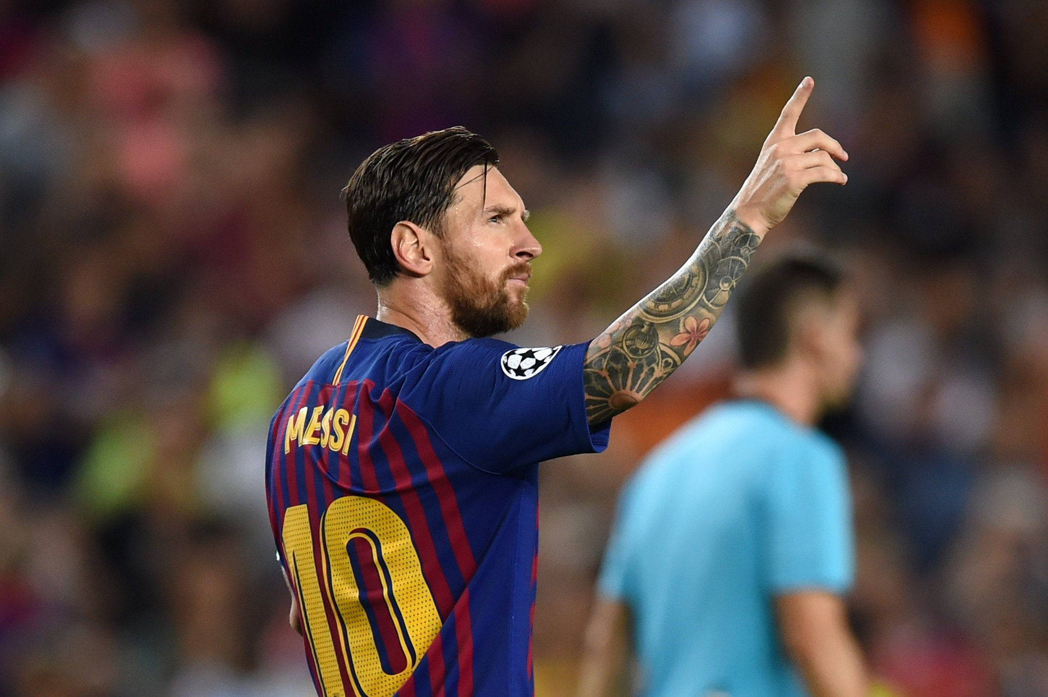 Leo Messi has now scored a record 8⃣ #UCL hat-tricks ⚽️⚽️⚽️ https://t.co/VmQFdzrKO0