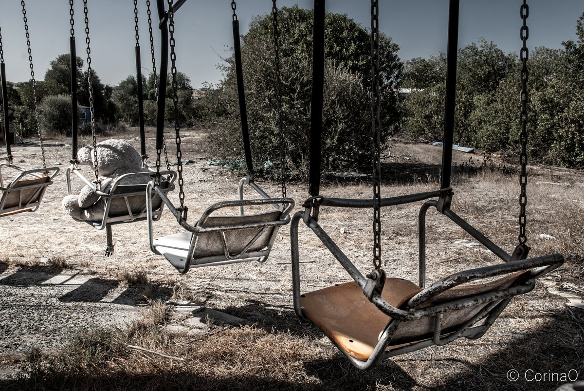 Corina O On Twitter Come Play With Me An Abandoned Playground Straight Out Of Hades Urbex Shot In Cyprus Urbexa Com Urbanexploration Haunted Https T Co Gqzvc1ha48