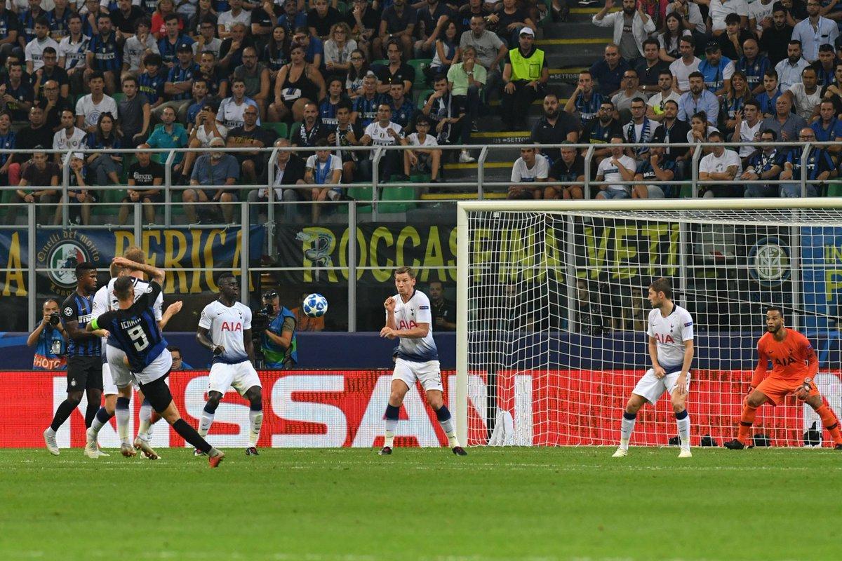 F/T: Inter Milan 2-1 Tottenham ind.pn/2OADE6u