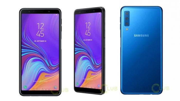 Samsung Galaxy A7 (2018) deve ter câmera tripla e leitor de digitais nalateral https://t.co/b368h6Yy0t