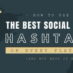 [INFOGRAPHIC] How to use the Best Social Media #Hashtags on Every Platform (and not mess it up) https://t.co/jC0IfL2lMO #SMM