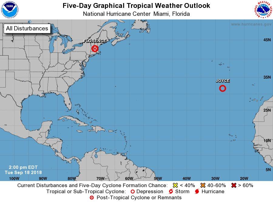 Estupendas noticias para Quintana Roo! Isaac ha desaparecido...  Y no hay tormentas en el horizonte que por el momento amenacen a nuestro territorio... @HechosQroo https://t.co/qA8S9NoV0Y