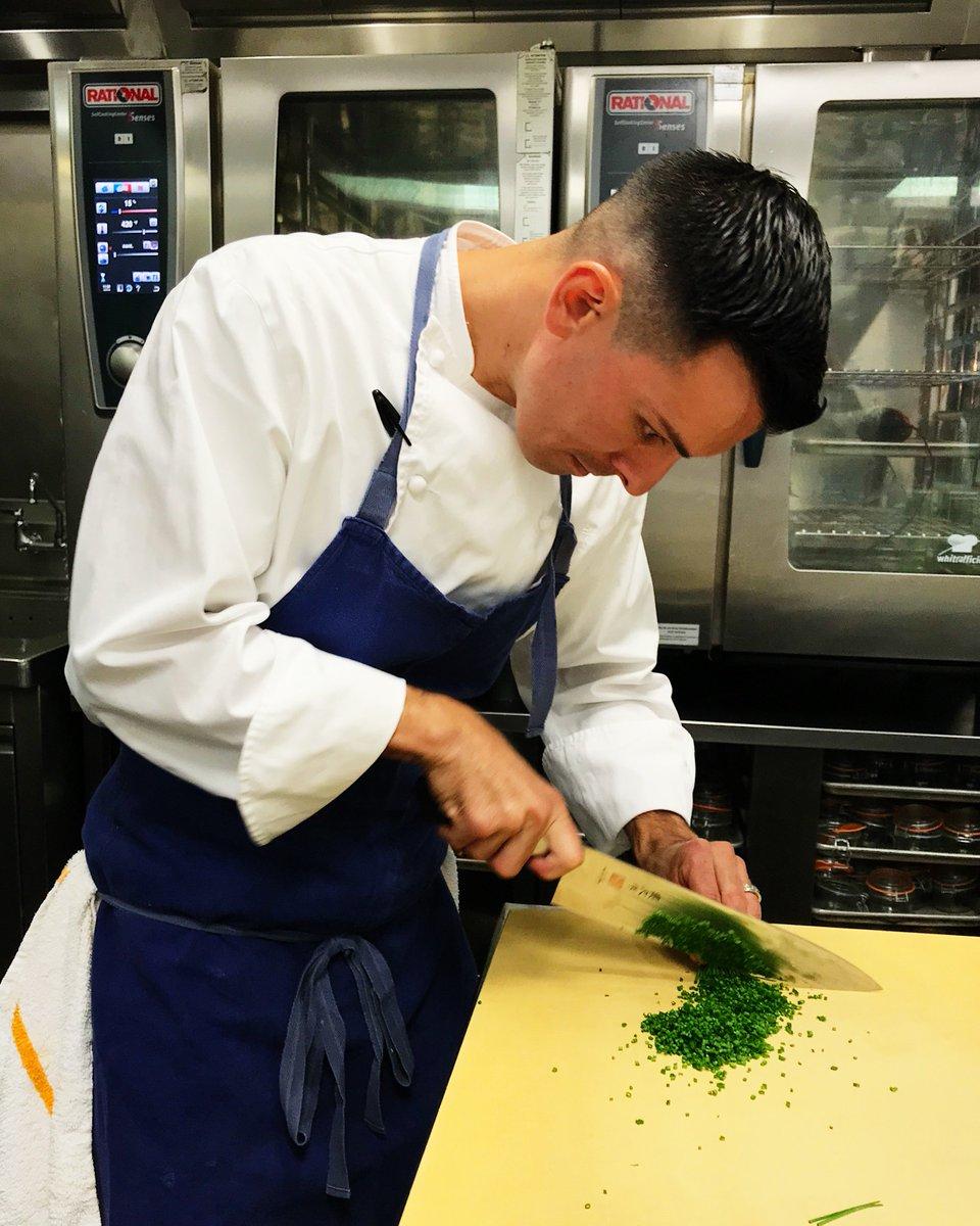 Ad Hoc Addendum V Twitter Chef De Cuisine Matt Alba Preparing