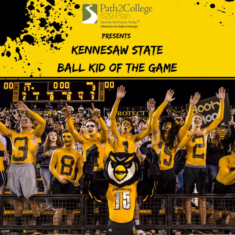 Be sure to register your kid to be the Game Ball Kid of the Game! Follow this link to register:  https:// ksuowls.com/sb_output.aspx ?form=238   …  #littlebrother #littlesister #favoriteniece #favoritenephew #kiddo<br>http://pic.twitter.com/g5IYn8RGGK