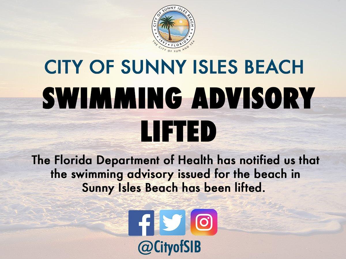 City of Sunny Isles Beach on Twitter: