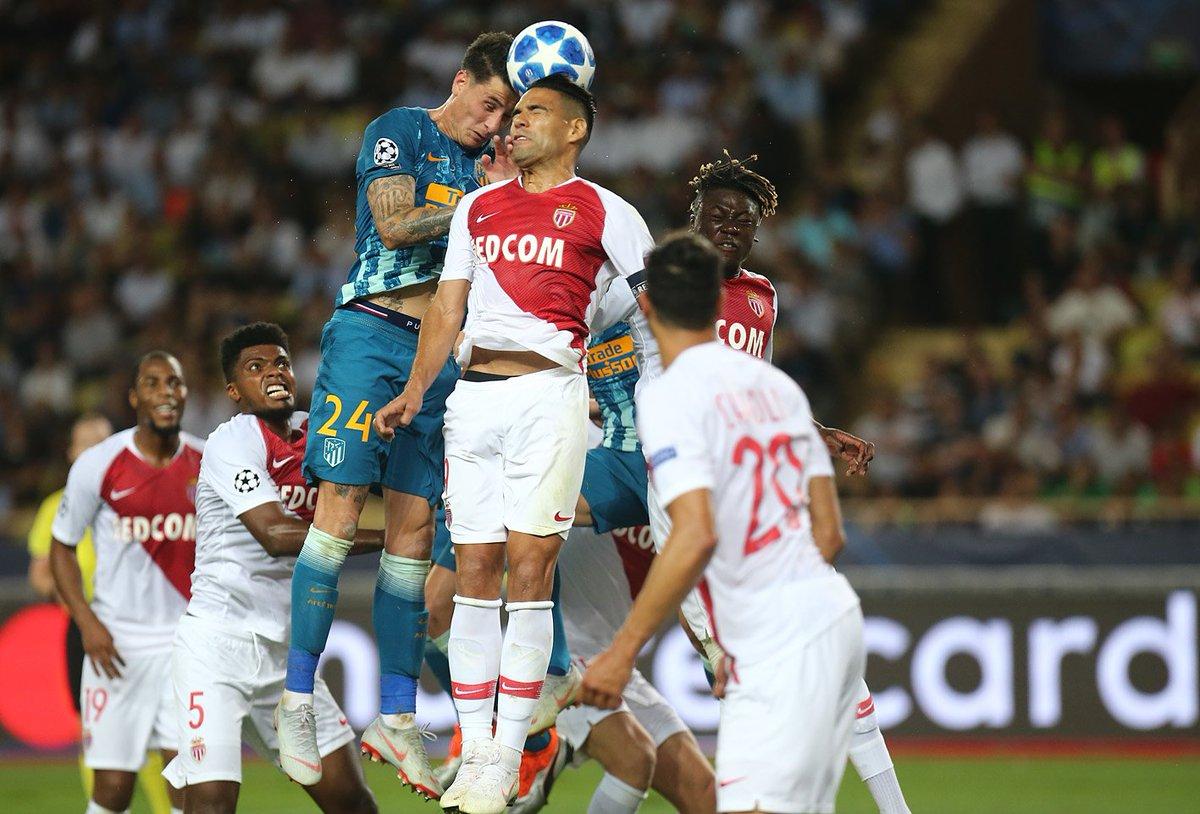 Champions League: Monaco 1 Atletico Madrid 2