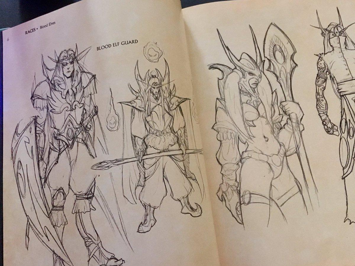 Blood Elf Ranger Concept Art