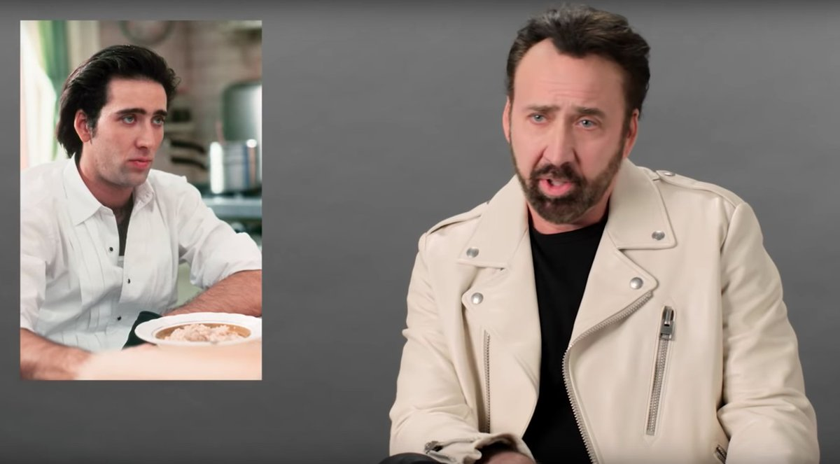 Watch Nicolas Cage break down his most iconic characters gq.mn/kTkrYoX