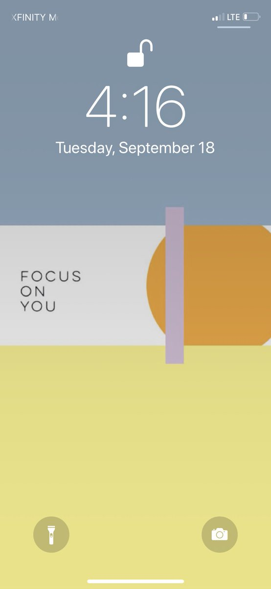 Shoutout to @JordanPlain for the wallpaper and reminding me to focus on myself everyday. 🙏🏽