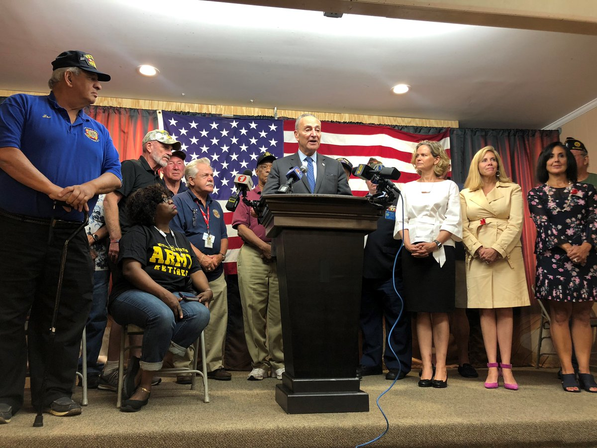 Long Island veterans stood on the frontlines for America. When it comes to @NorthportVAMC's urgently-needed repair and staff needs, they should be at the front of the line for funding. https://t.co/TOeDLolT1Q