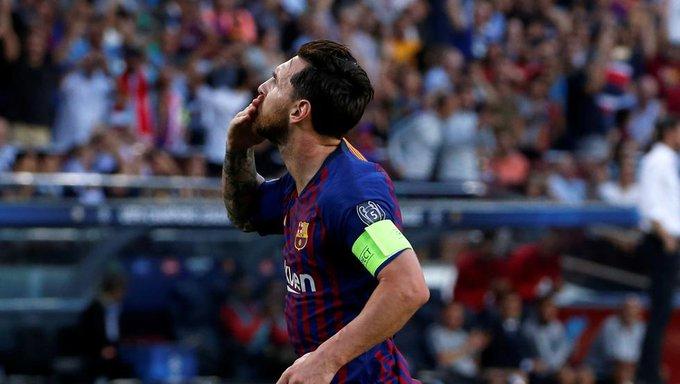 """Amor: """"El mundo del fútbol sabe que Messi es el mejor"""" Foto"""