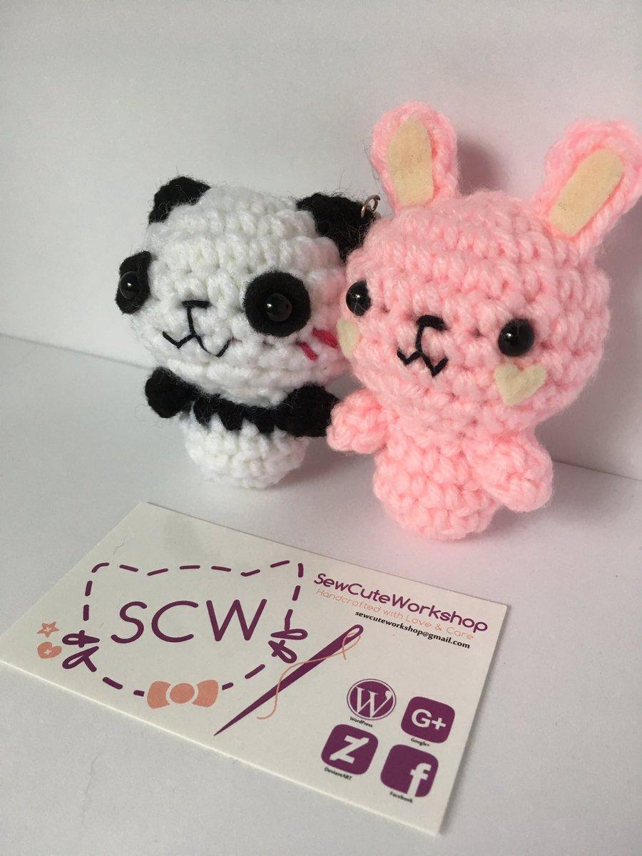 Crochet panda pattern kawaii amigurumi pattern | Etsy | 1200x900