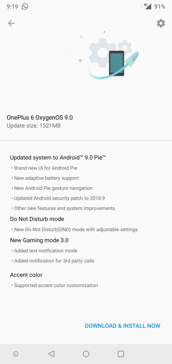 This is so awesome. Thank you 😘😍 #OnePlus6