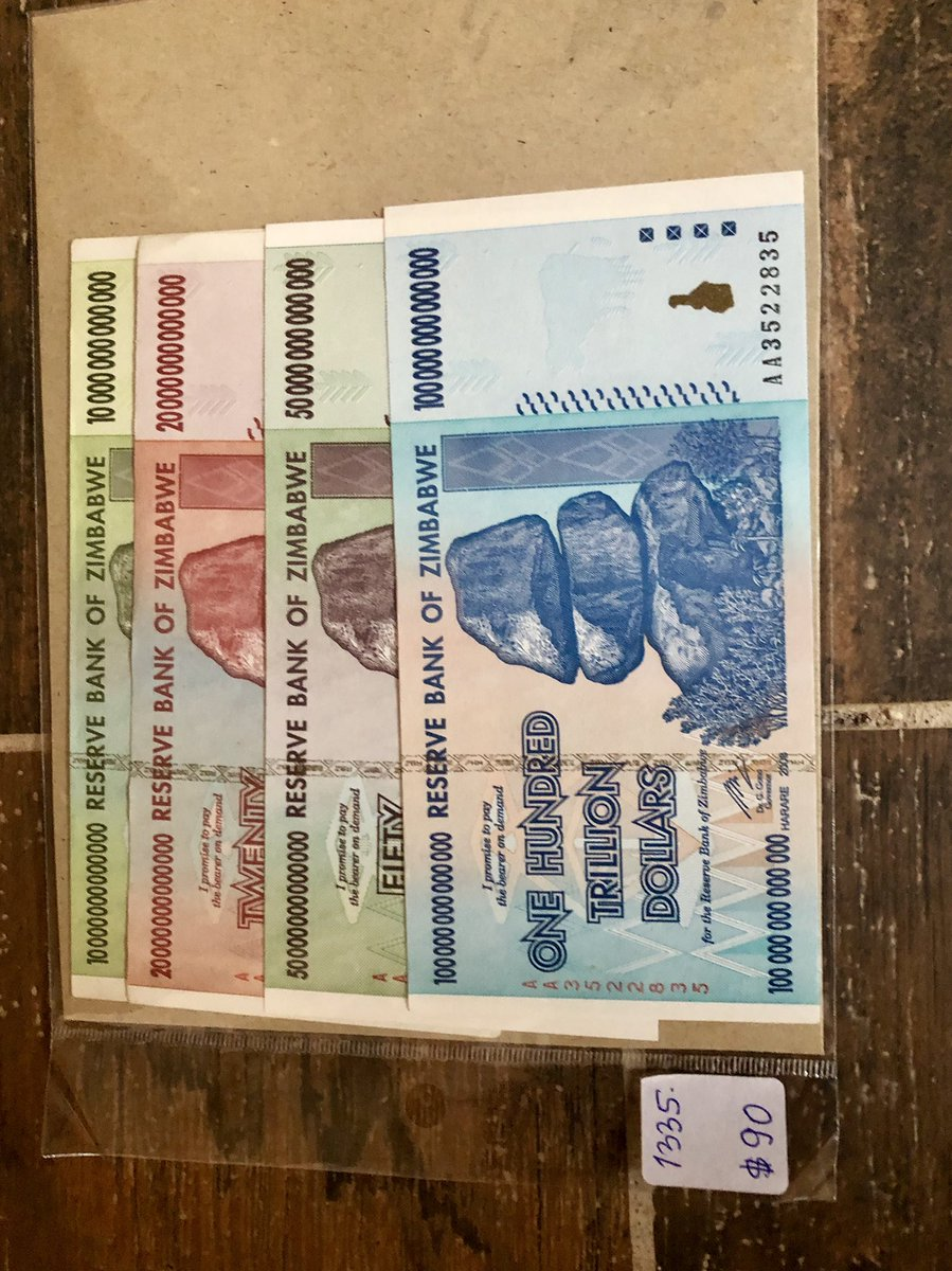 Harumutasa Aljazeera On Twitter 1 The Original Zimbabwe Dollar 2 What Came Afterwards But Look At How Much They For These Days