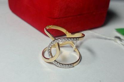 Золотые кольца: купить золотое кольцо 585-й пробы в.. - Zlato.ua