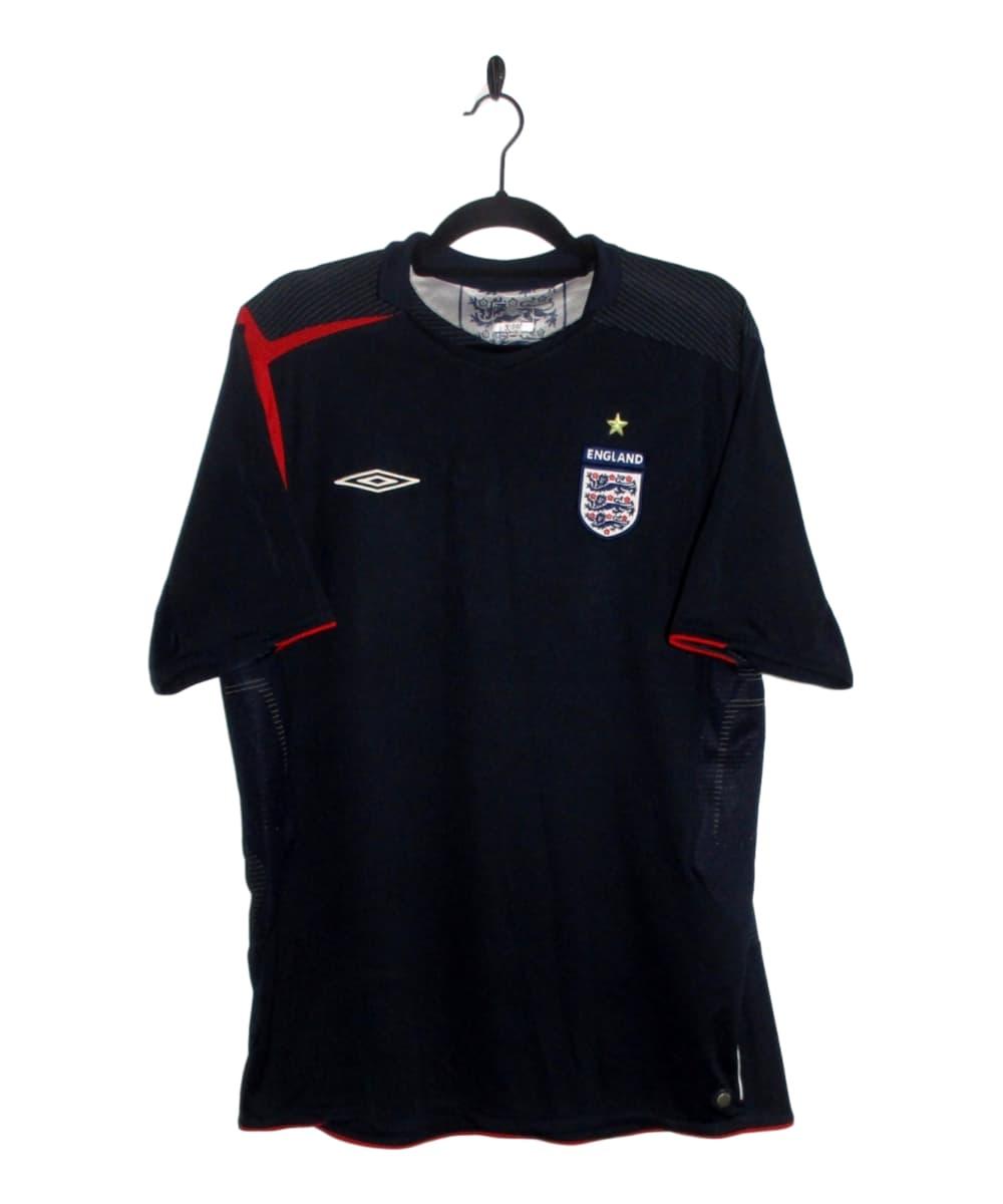Buy a 2005-06 England Goalkeeper Jersey (XL) from #TheKitman tinyurl.com/y7k9p44z #football #soccer #England #GK #ThreeLions