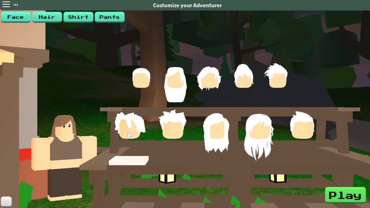 Vesteria On Twitter Its Character Customization Week - roblox customize characters