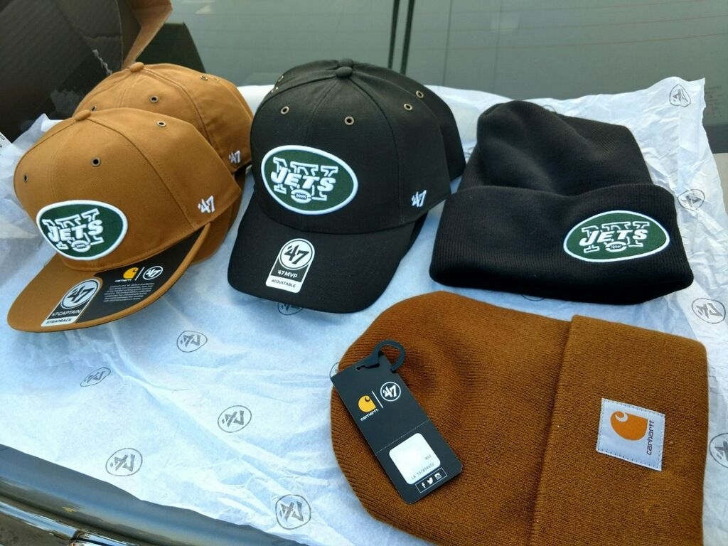 Thanks to  Carhartt    47 we are giving away some NY Jets Hats. a77544a17