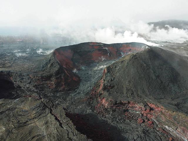 Lava upsurge dies down; naming the fissure heats up https://t.co/lO8lbZoEmT #Hawaii #HIvolcano #Fissure8 #Kilauea