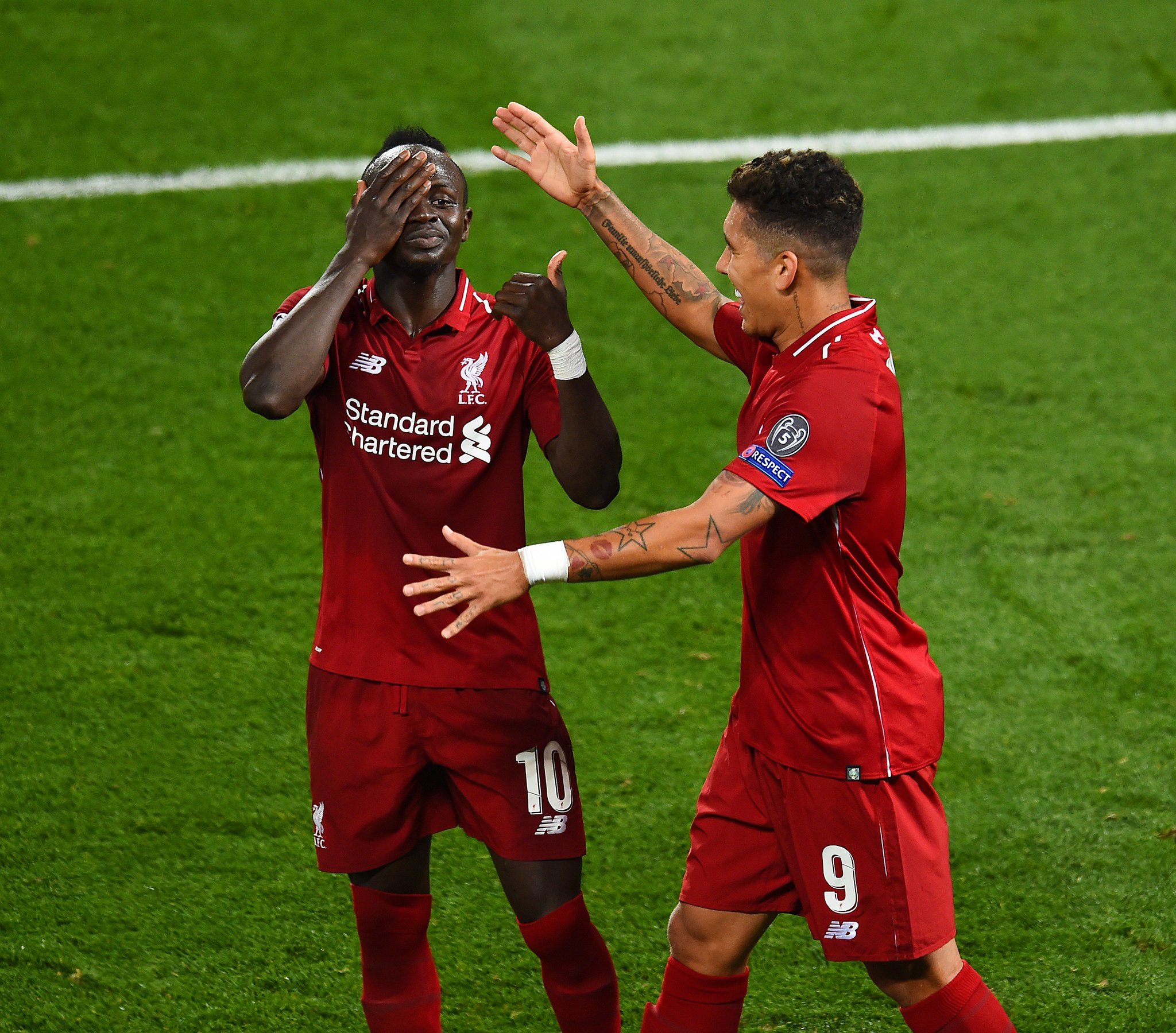 New goal celebrations, Sadio? �� https://t.co/z5UpPsN7MU