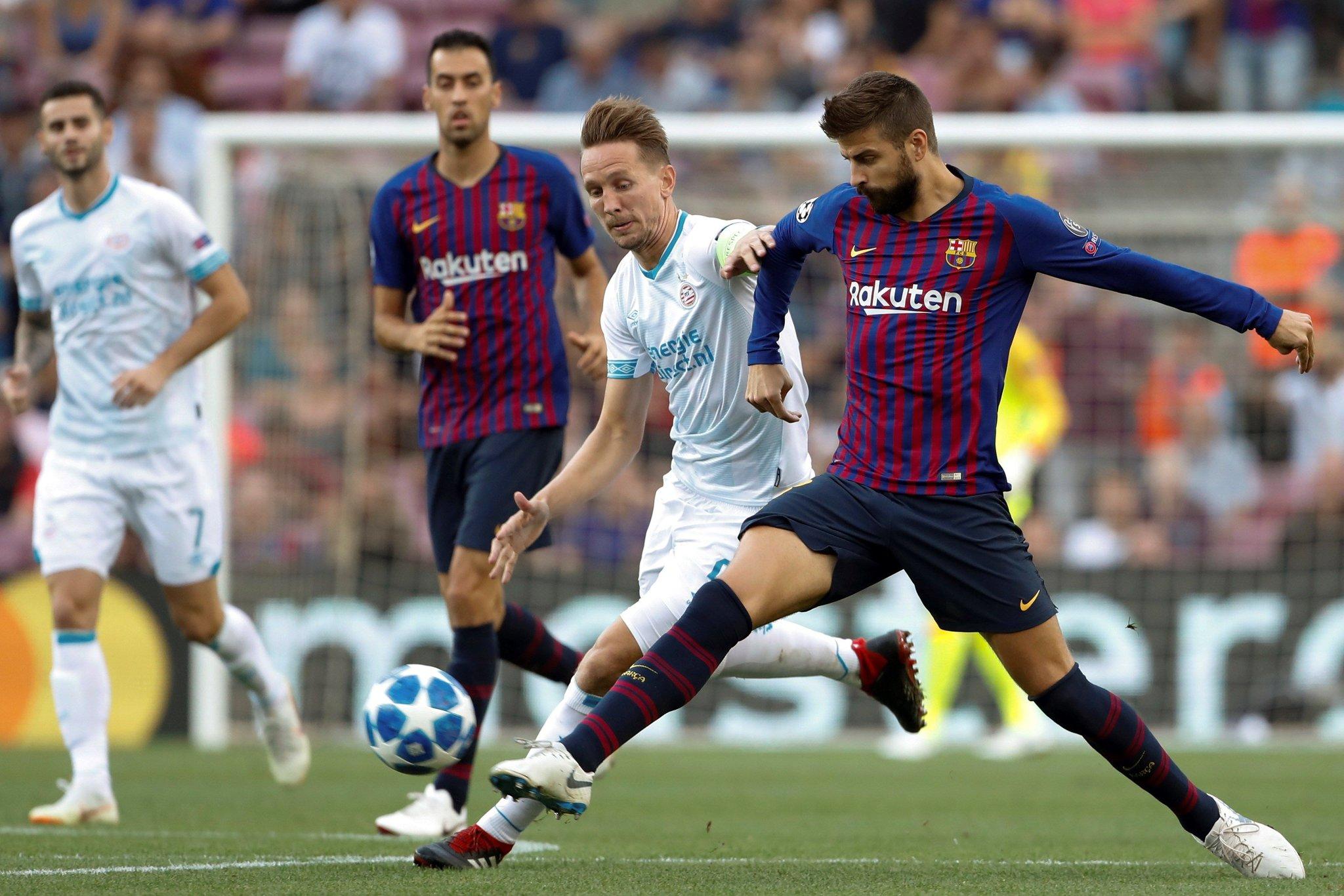 صور مباراة : برشلونة - PSV إندهوفن 4-0 ( 18-09-2018 )  DnaSaYHUcAA9k5c