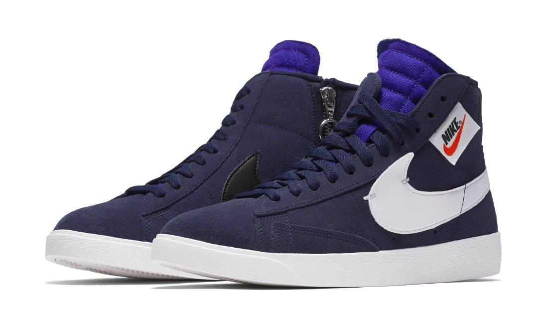 .@johnelliottco is dropping an exclusive Nike WMNS Blazer Mid Rebel: trib.al/Lyhgegm