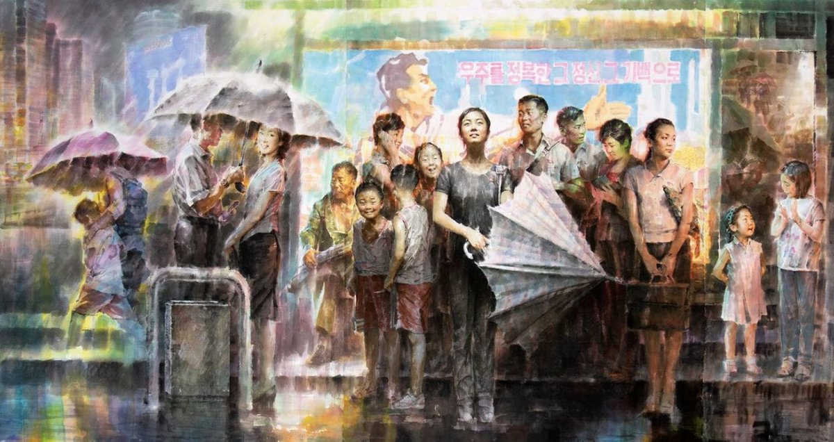 North Korean art — produced by the state gallery but going beyond the murals and propaganda posters — will be on show in South Korea, at Asia's largest arts festival. Our @Min_Joo_Kim_ got a sneak peak: https://t.co/szaNhQ6WnS