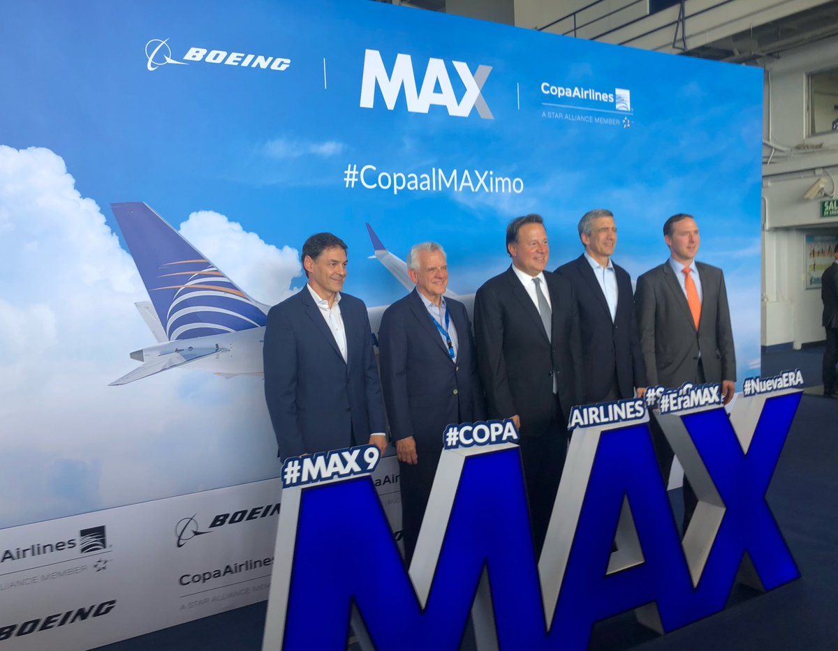 Resultado de imagen para copa airlines Boeing 737 max 9