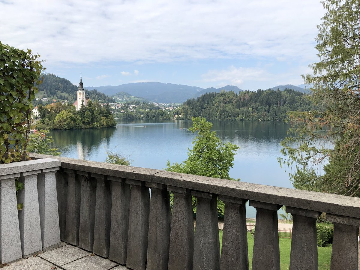 Yugoslav Communist dictator Marshal Tito's state villa at Lake Bled, Slovenia - now a hotel. 🇸🇮
