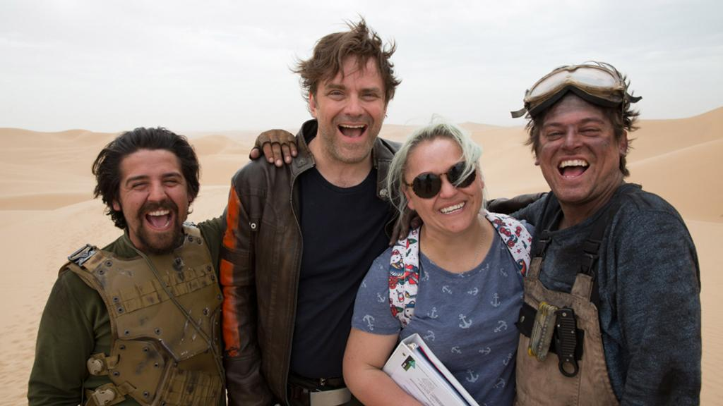 Tales from the Tatooine Desert: The Making of Star Wars Fan Film, 'The Sable Corsair.' https://t.co/nVFxjNg2Pt