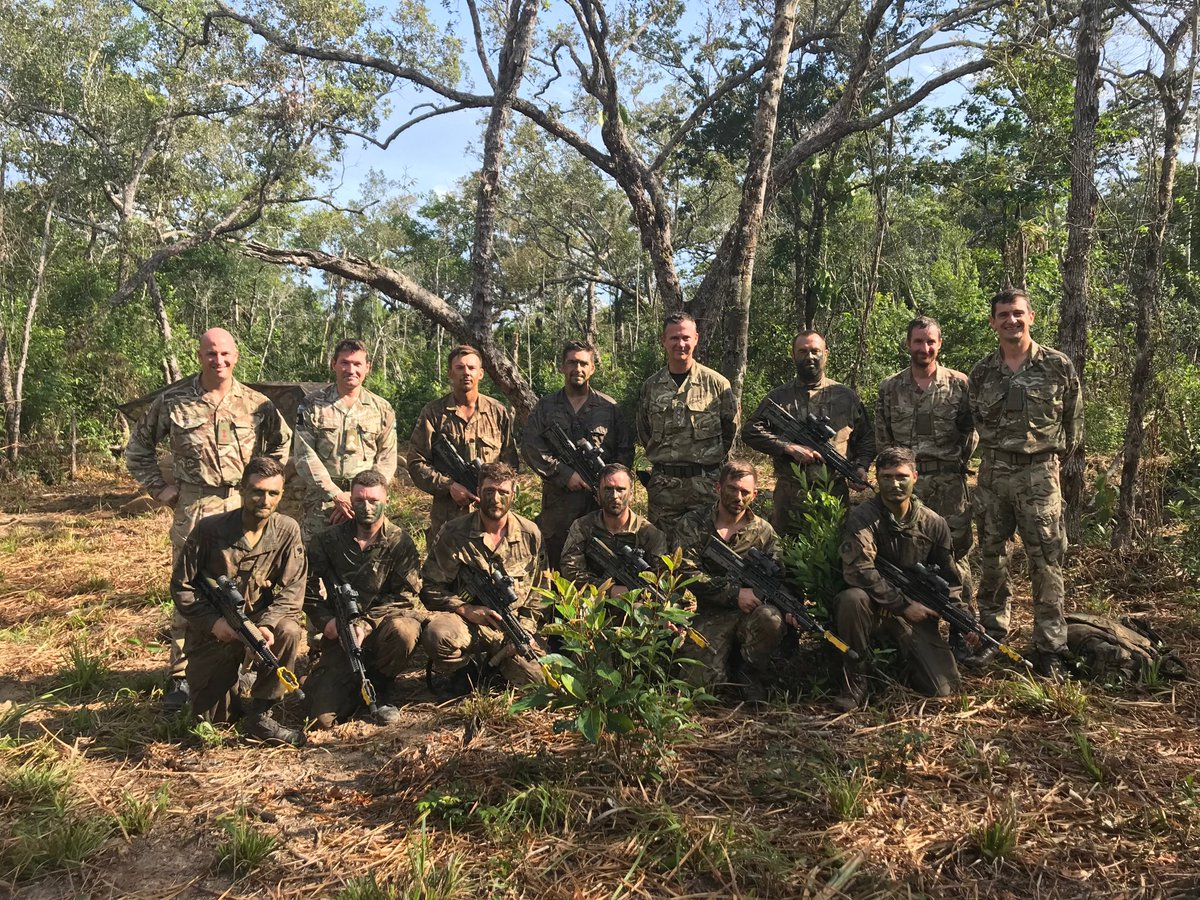 test Twitter Media - Enormous pleasure to visit Chindit Company ⁦@LANCS_REGT⁩ in Belize, conducting jungle training as part of their transition to Specialist Infantry. On day 18 in the field lots of hot, sweaty, tired but very happy faces. https://t.co/nbgHkxJL22