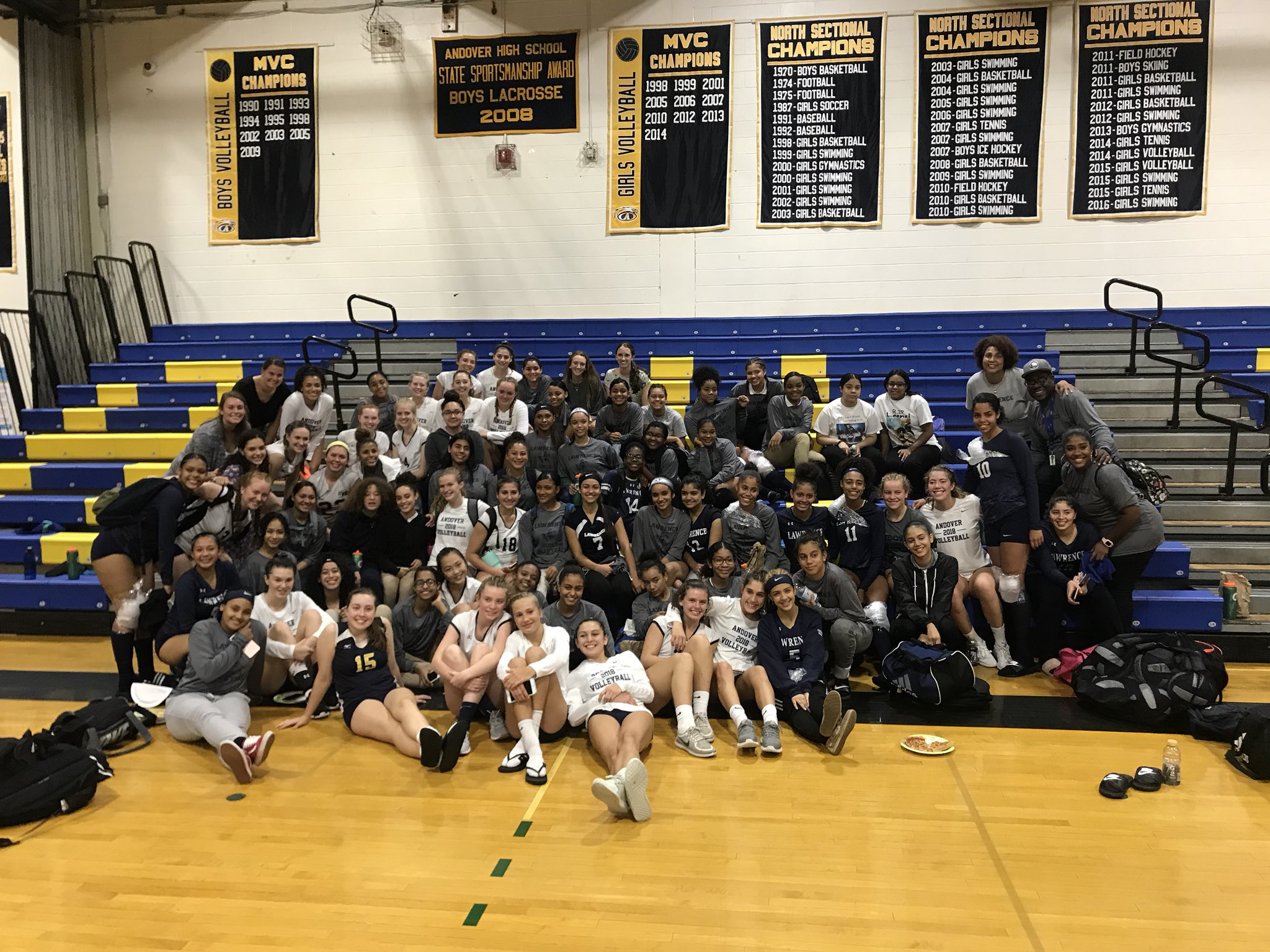 """Andover Athletics on Twitter: """"The Andover and Lawrence ..."""