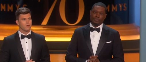 Michael Che At Emmys: Only White People Who Thank Jesus At Award Shows Are 'Republicans And Ex-Crackheads' https://t.co/uJdYSwcjwJ