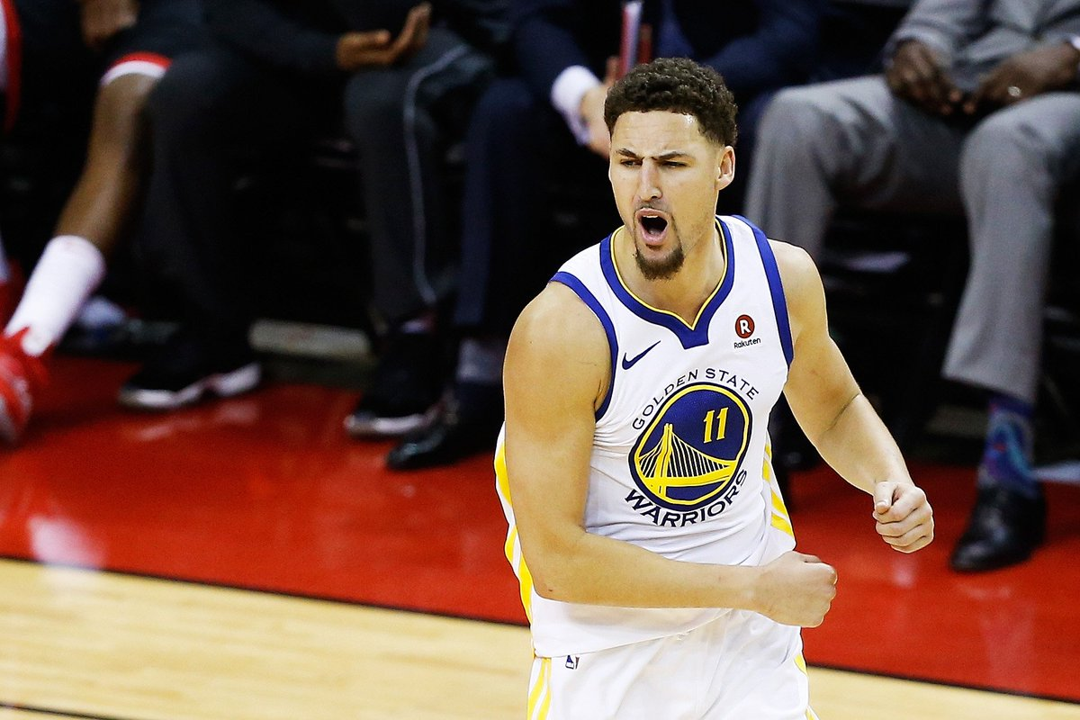 Don't know about you, but we're ready for more Klay highlights 😎