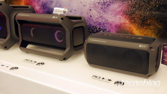 LG PK3, PK5 e PK7 são caixas de som Bluetooth cheias de luzes que estão chegando aoBrasil https://t.co/OnKydQCe64