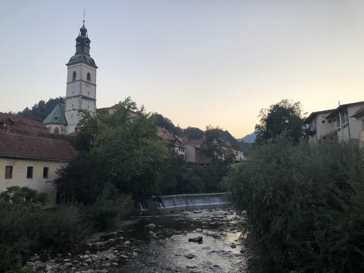 The town of Skofja Loka, Slovenia 🇸🇮