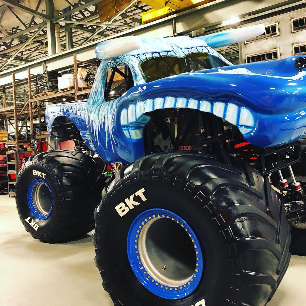 Image result for monster jam fire and ice