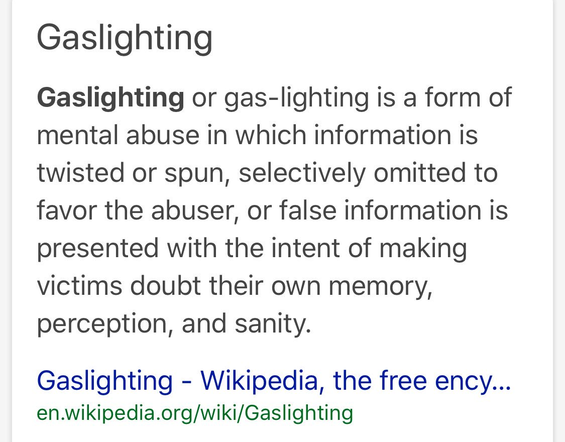 """brittany artus on twitter: """"trump is a gaslight-or ( new word). i"""