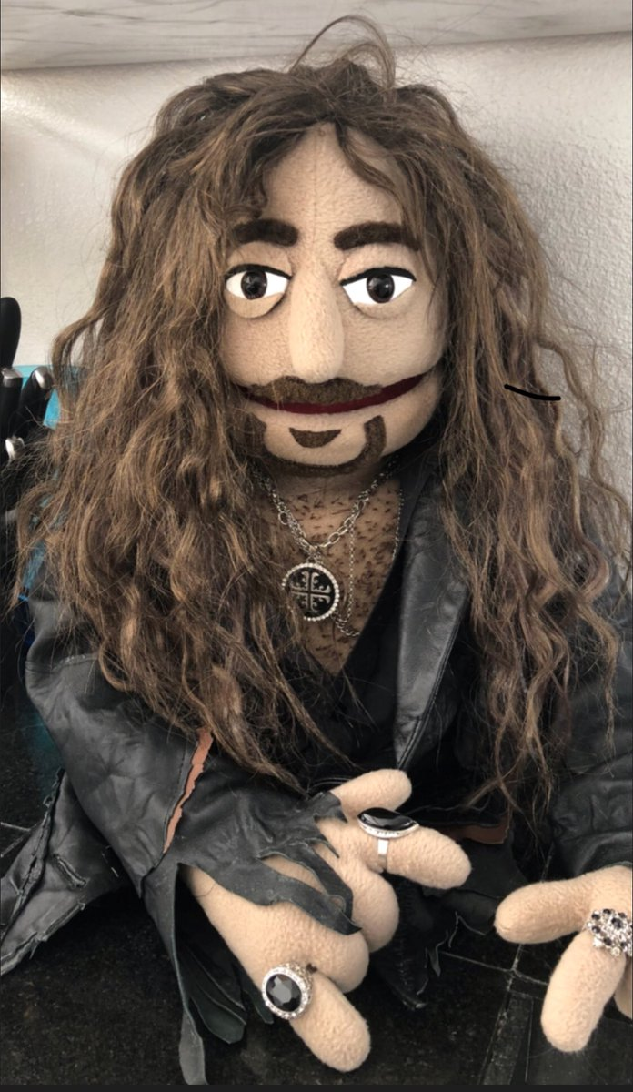 Just in case you were wondering what I would look like as a puppet!!