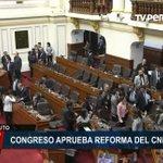 Junta Nacional de Justicia Twitter Photo